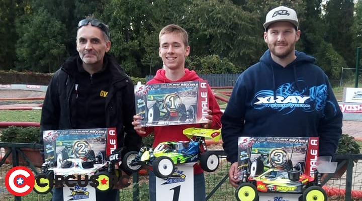 William Cazin wins at WSLine race