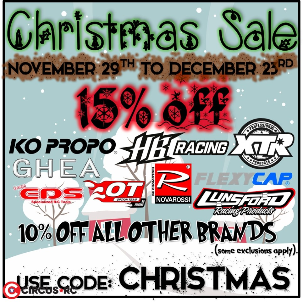 Absolute Hobbyz 'Christmas' Sale!