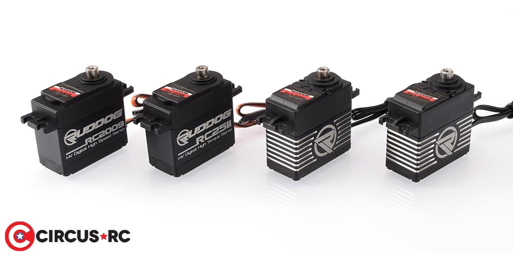 RUDDOG High Voltage standard size servos