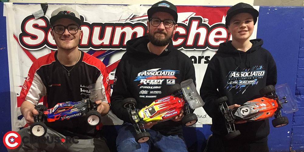 Schumacher Indoor Masters Rd2 report