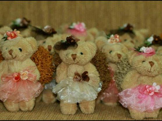 Tali rambut Teddy Bear/Harrods..