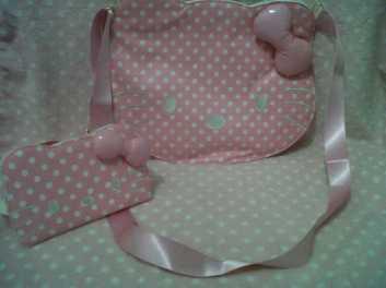 Tas dan Dompet seri Pinky Dot