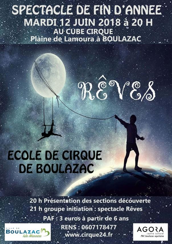 Ecole des arts du cirque de Boulazac - Périgueux Spectacle-12-juin Spectacle de fin d'année