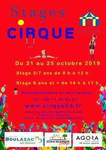 Ecole des arts du cirque de Boulazac - Périgueux flyer-Toussaint-19-1-213x300 Actualité de l'école du cirque