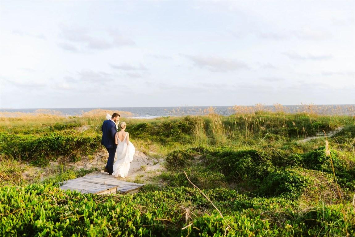 oak island wedding photography