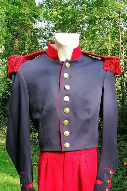 Military Suit, theatrical epaulets, front suit