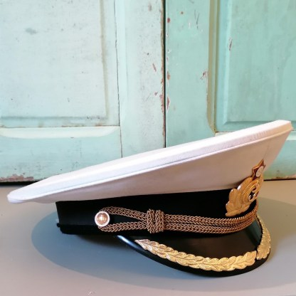 Russian Navy Officer Cap, U.HAT10.01, side