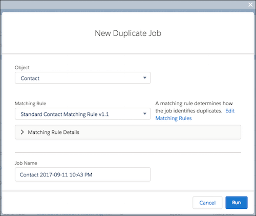 Duplicate Job within Spring 18 release