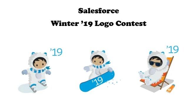 Salesforce Winter '19 Logo Contest