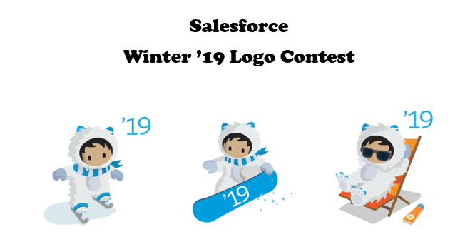 Salesforce Winter '19 Logo Contest