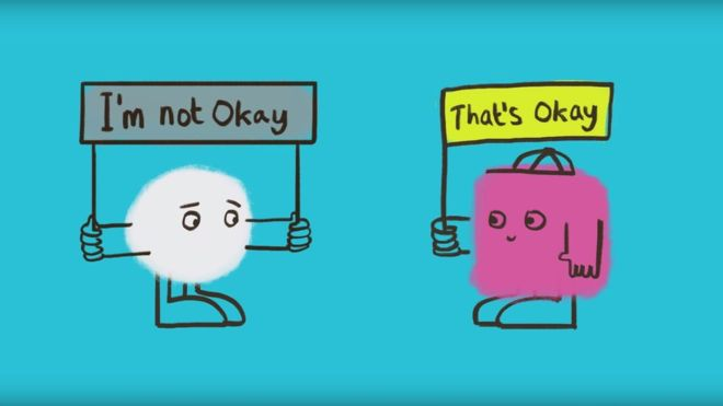 It's ok, not to be ok...