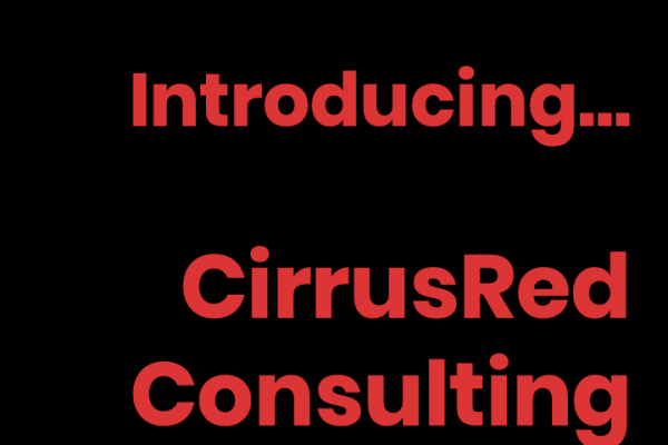 Introducing CirrusRed Salesforce Consulting, helping to maximise your investment in your Salesforce CRM.