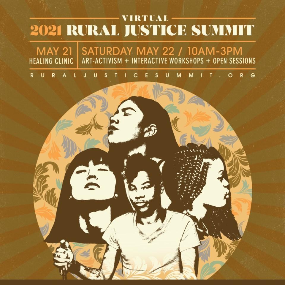 2021 Rural Justice Summit flyer
