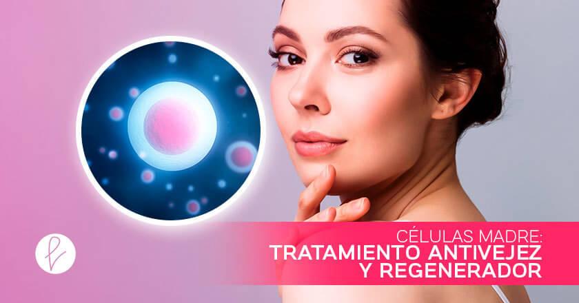 Células Madre: tratamiento antivejez y regenerador