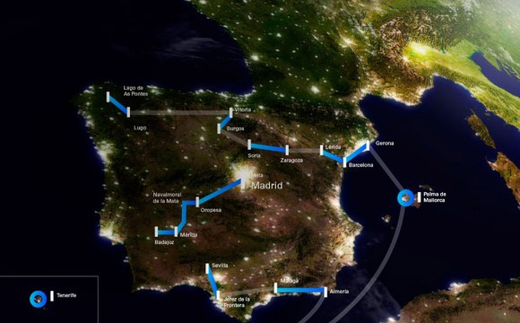 First Tour of Spain in electric vehicles organized by Endesa