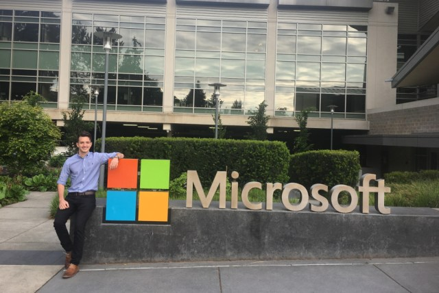 Intern at Microsoft as a Software Engineer