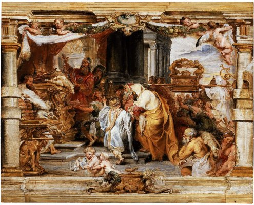 The Sacrifice of the Old Covenant (painting by Peter Paul Rubens)