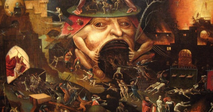 Bosch painting Hell