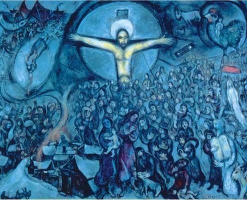 'Exodus' by Marc Chagall, 1952-66