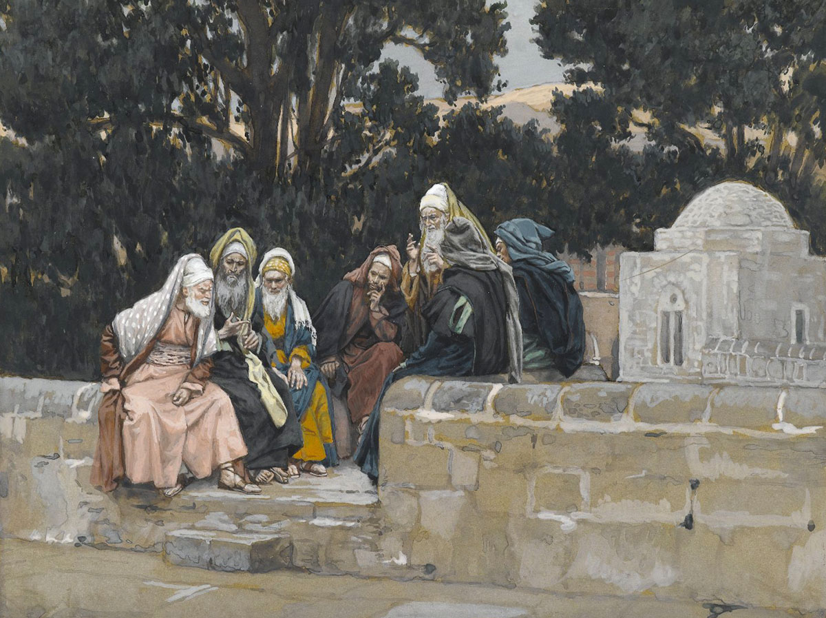 The Pharisees and the Herodians Conspire Against Jesus,