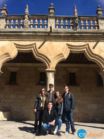 Touring Salamanca, Spain