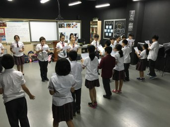 Vocal projection Activity