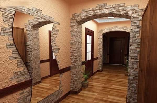 дизайн прихожей в квартире панельного дома 7