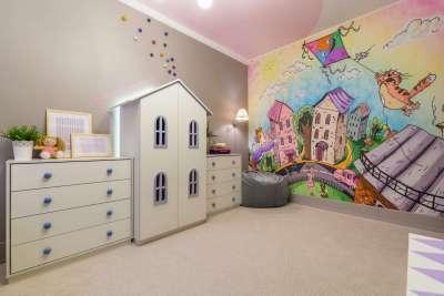 Обои для детской комнаты для девочек — выбор узора, цвета ...