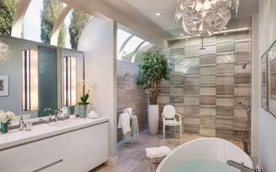 Современная плитка для ванной комнаты: выбор стиля ...