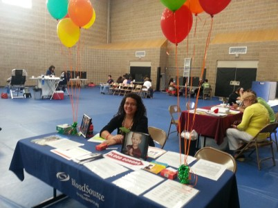 Caemon's Birthday Blood Drive at Sonoma State University