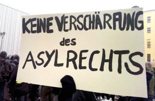 Vendredi 05 Décembre 2014 - Participation à la manifestation « Stop au durcissement du droit d'asile ! » - Berlin