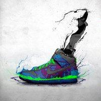 čištění bot nike