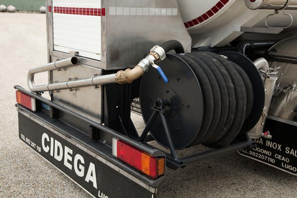 Cisternas sobre camión para el transporte de mercancías peligrosas construidas bajo normativa ADR