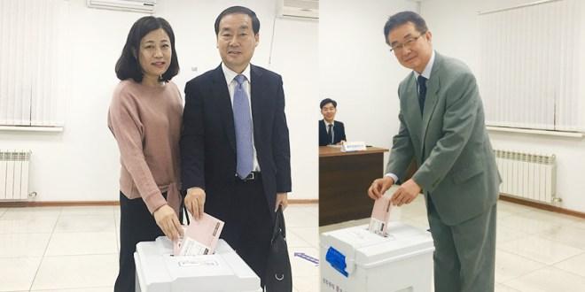 19대 대통령 선거, 25일 오전 8시를 기해 재외국민 투표 시작 되다