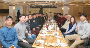 카자흐스탄 한인회, 유학생 초대 식사