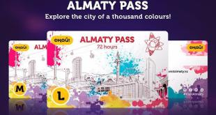 2018년 8월 6일 CIS 뉴스-알마티 관광객을 위한 3종류 카드 선보인다
