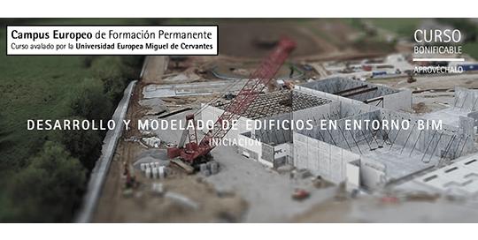 Desarrollo y modelado de edificios en entorno BIM. Iniciación