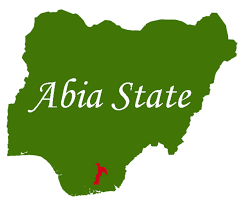The map of Abia state
