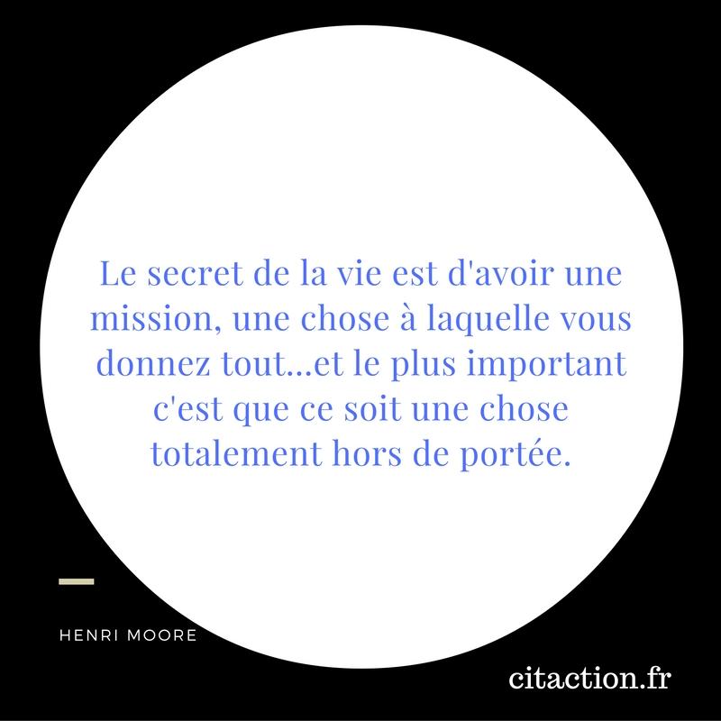 le secret de la vie
