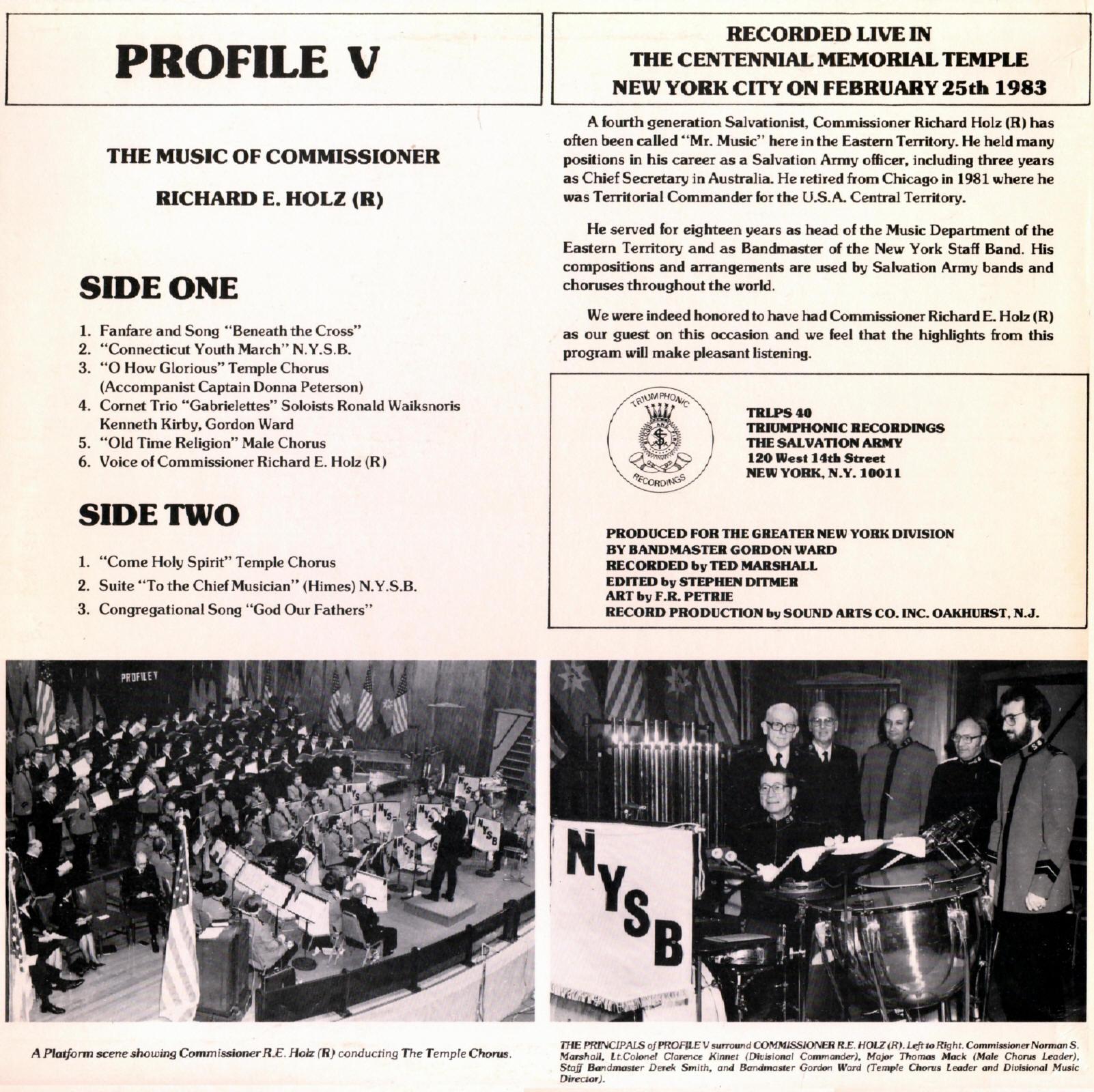 TRLPS40 - Profile V - Holz