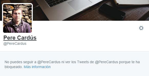 Pere Cardús Perfil