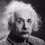 Albert Einstein in 1947