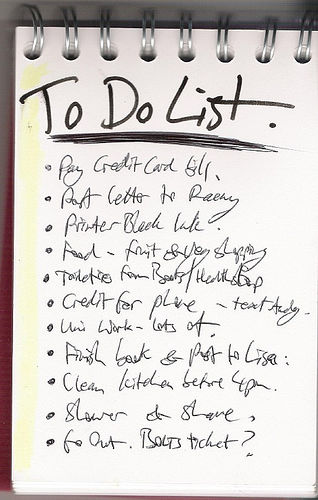 things-to-do-list