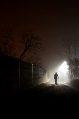 Being Afraid fear alone