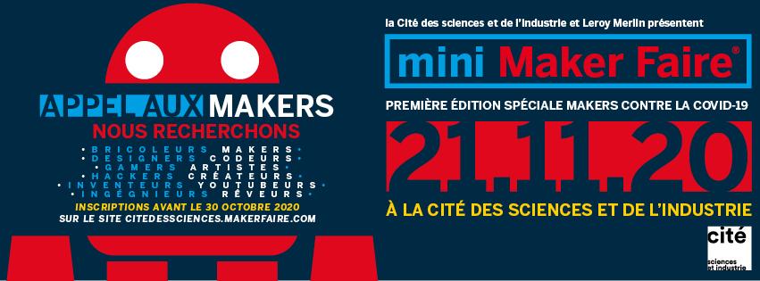 """Appel aux makers pour la """"Spéciale Makers contre la COVID 2020"""""""