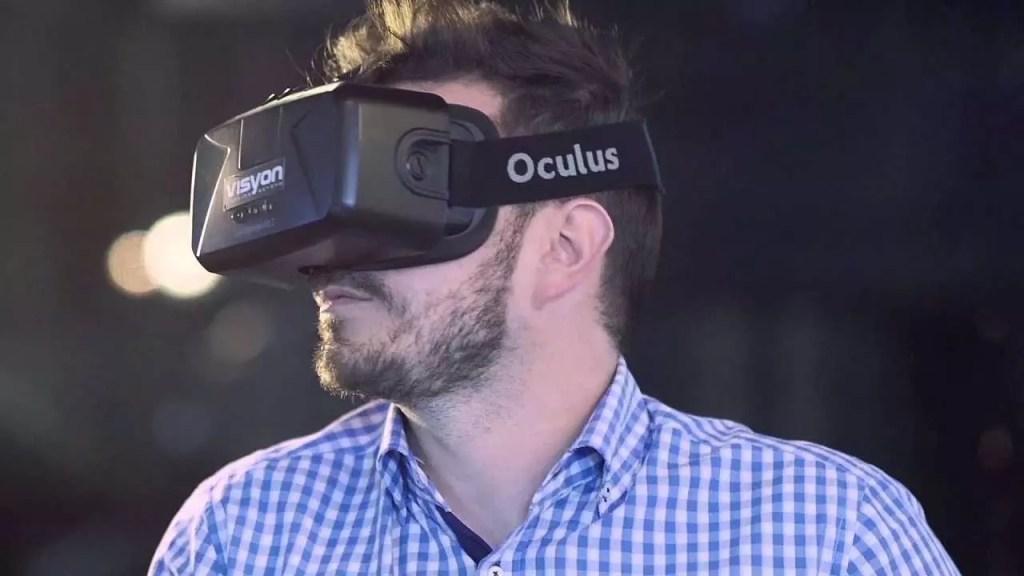 Oculus VR espacio realidad virtual