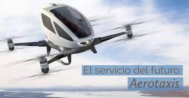 Aerotaxis: ¿el futuro de la movilidad urbana?
