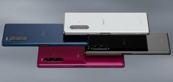 El nuevo producto de Sony, el enigmático Xperia 5. Llegará en Octubre