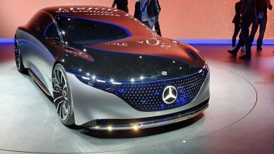 Photo of El Mercedes Vision EQS: un auto 100% eléctrico