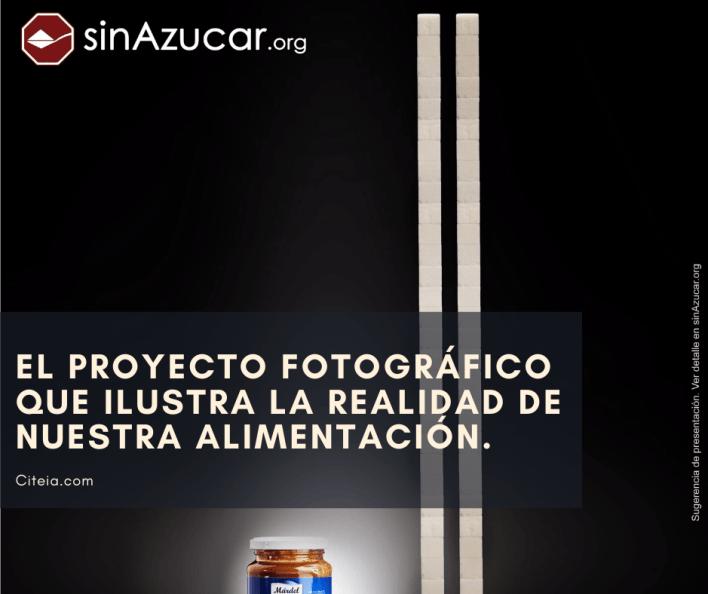 proyecto fotografico que muestra el azucar en la comida